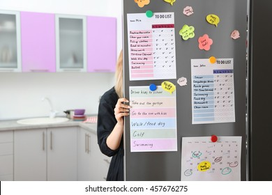 Calendar In Kitchen Stock Photos Images Photography Shutterstock