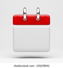Calendar Icon - Clipping Path