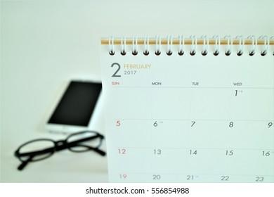 calendar for new year 2017