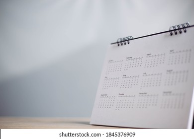 calendar on table in office,Planner purpose for business year event, agenda, schedule,planing, booking, appointment, timeline, payment reminder.