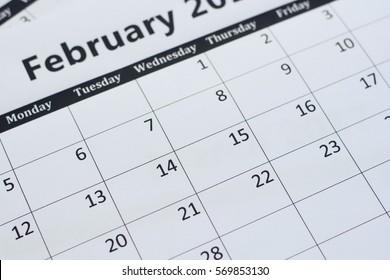 calendar page background