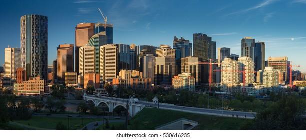 Calgary, AB Skyline