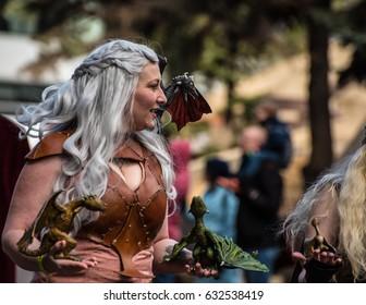 Calgary, Alberta, Canada - April 28 2017: Calgary Comic and Entertainment Expo Parade of Wonders