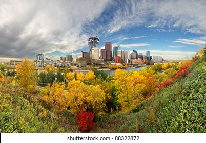 Calgary, Alberta, Canada. Autumn Colors
