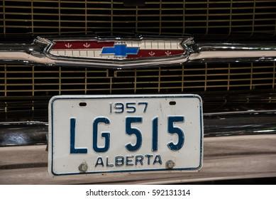 Calgary, Alberta, Canada - February 25 2017: World of Wheels car show