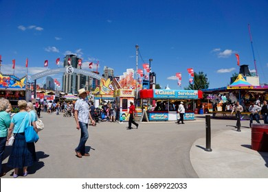 Calgary Canada - 5 July 2013 : Fair grounds at Calgary Stampede