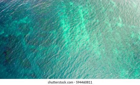 California Coast from above