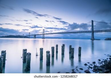 the California coast line