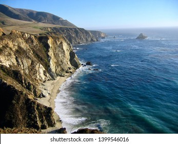 California Coast Travel - Cliffs of Southern California. Nature at it's best