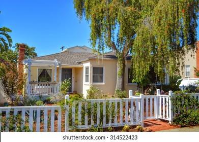 California Dream Houses and estates in the Santa Monica City, California.