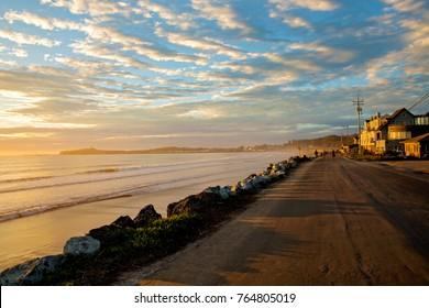 California. Half Moon Bay. Pacific coast.