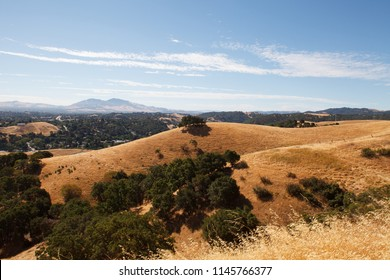 California Hills with Dry Grass