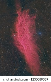 The California Nebula in Color and Hydrogen