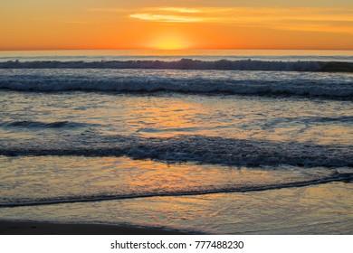 California Ocean Sunset