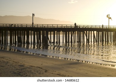 California Pier at Sunrise
