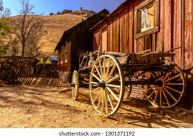California Road Trip Silver City Wild West Ghost Town