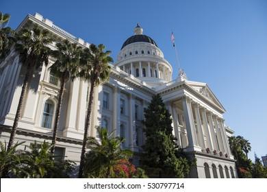 California state capital building, Sacramento.