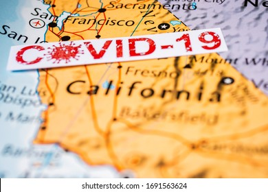 California state Covid-19 Quarantine background