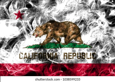 California state smoke flag, United States Of America