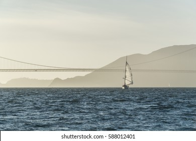 California Yachting on Sunset Bridge