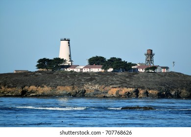 California's coastal Piedras Blanca Light Station, still in service after more than 140 years.