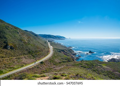 California's coastline along California State Route 1, one of the most famous and spectacular drives in the United States