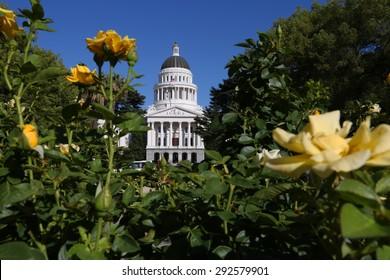 California's State Capitol in Sacramento, California