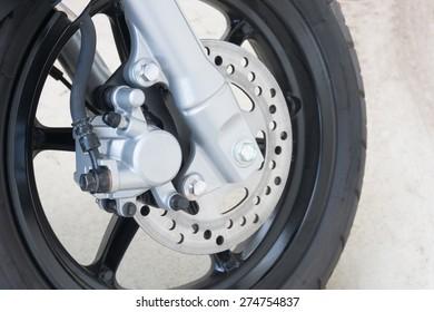 caliper brake and disc brake of motorcycle
