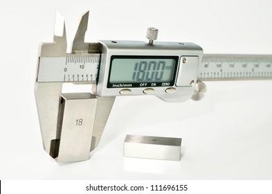 caliper calibration
