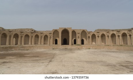 The Caliphal palace in Samarra, Iraq