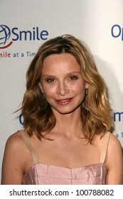 Calista Flockhart at the 9th Annual Smile Gala Benefiting Operation Smile, Beverly Wilshire Hotel, Beverly Hills, CA. 09-24-10