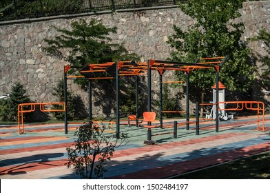 Calisthenics Workout Area In The Park