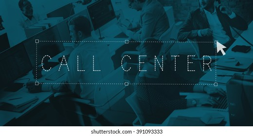 Call Center Customer Service Frequently Asked Question Concept