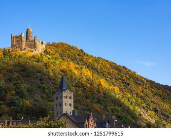 "The so called castle ""Maus"" near St. Goarshausen/Germany"