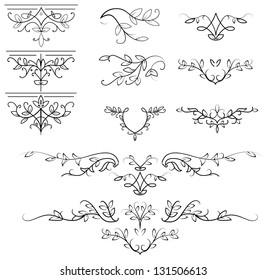 Calligrafic Design Elements. Its a raster version. Vector search in my portfolio