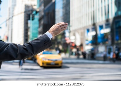 calling a cab in NYC