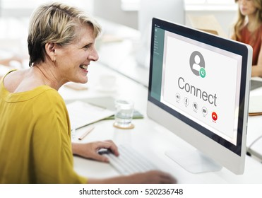 Calling Communication Connect Networking Concept