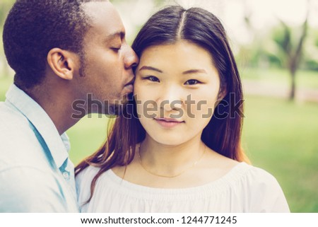 kissing and feeling up