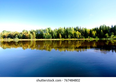 Calm and beautiful Kymijoki river in Finland - Shutterstock ID 767484802