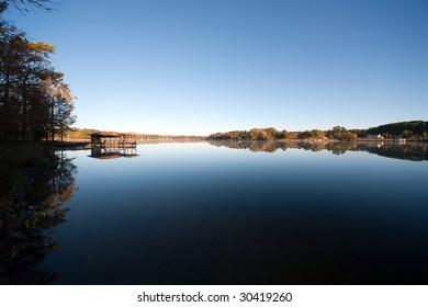 Calm Blue Lake