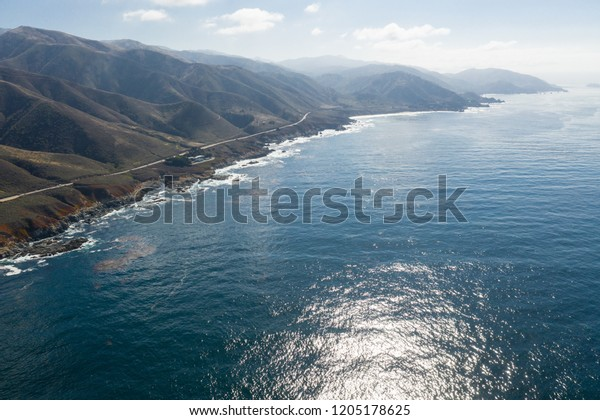 Calm Cold Waters North Pacific Ocean Stock Photo (Edit Now