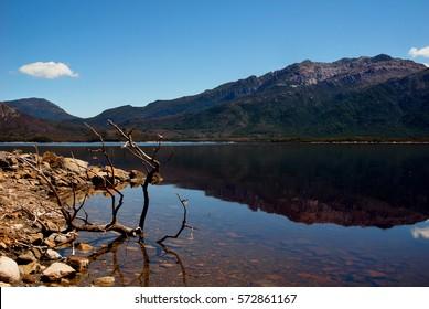 Calm Lake Burbury - Tasmanian beauty of nature