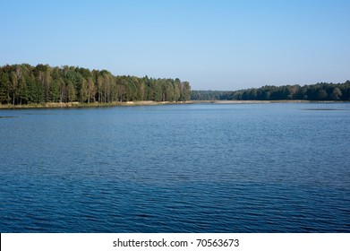 calm lake in the Poland