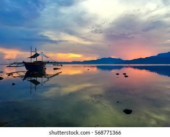 Calm Morning on Palawan