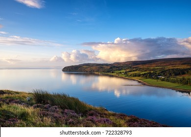 Calm Sea at Campbeltown Loch from Davaar Island, Kintyre Peninsula