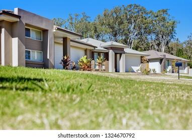 A calming outdoor house area