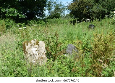 Calragh Graveyard, Boa Island, Lower Lough Erne, County Fermanagh, Northern Ireland