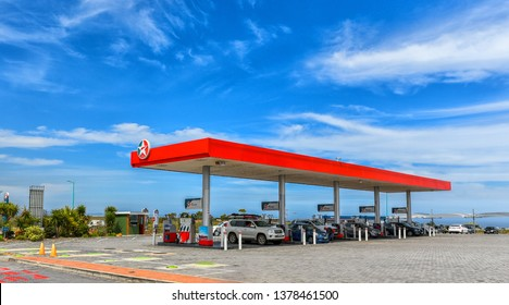 Caltex Petrol Station  in Eastern Cape, South Africa in December 2018