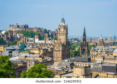 Calton Hill is a hill in central Edinburgh, Scotland. It was included in UNESCO World Heritage Site.