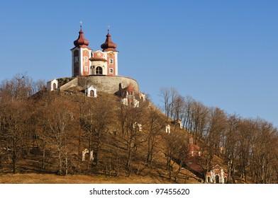 Calvary in Banska Stiavnica, upper Church - Slovakia UNESCO